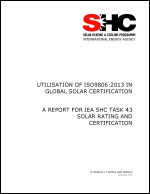 Utilisation of ISO9806:2013 in Global Solar Certification